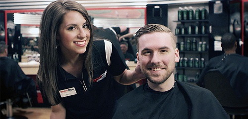 Sport Clips Haircuts of Liberty Triangle​ stylist hair cut